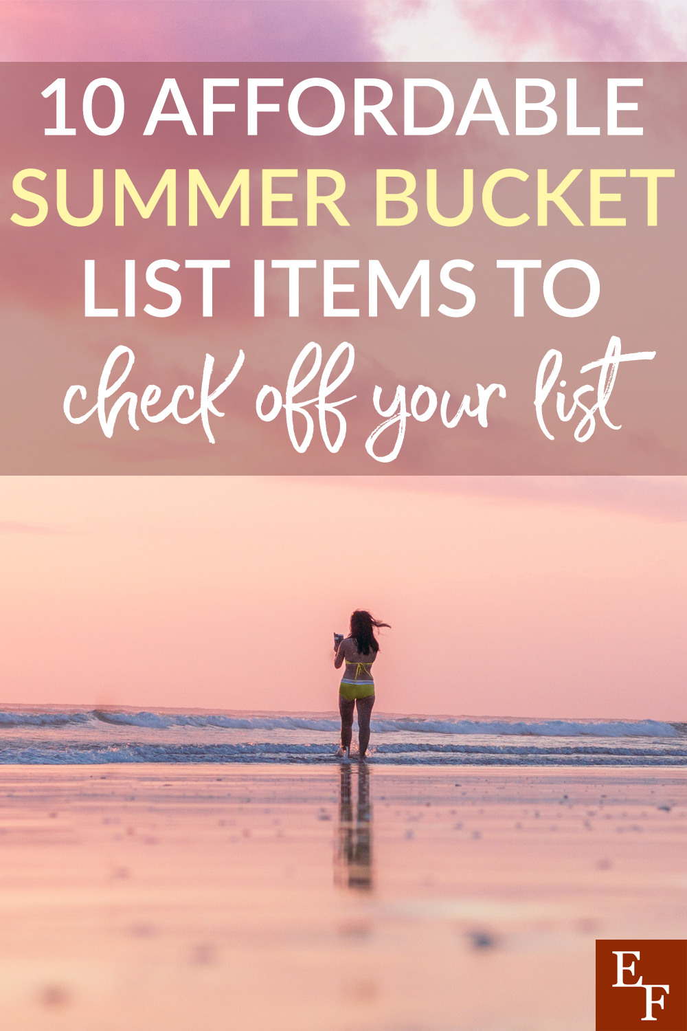 Summer is here! It's always fun to get out and enjoy the sun. If you're having issues getting a affordable summer bucket list together. We have you covered!