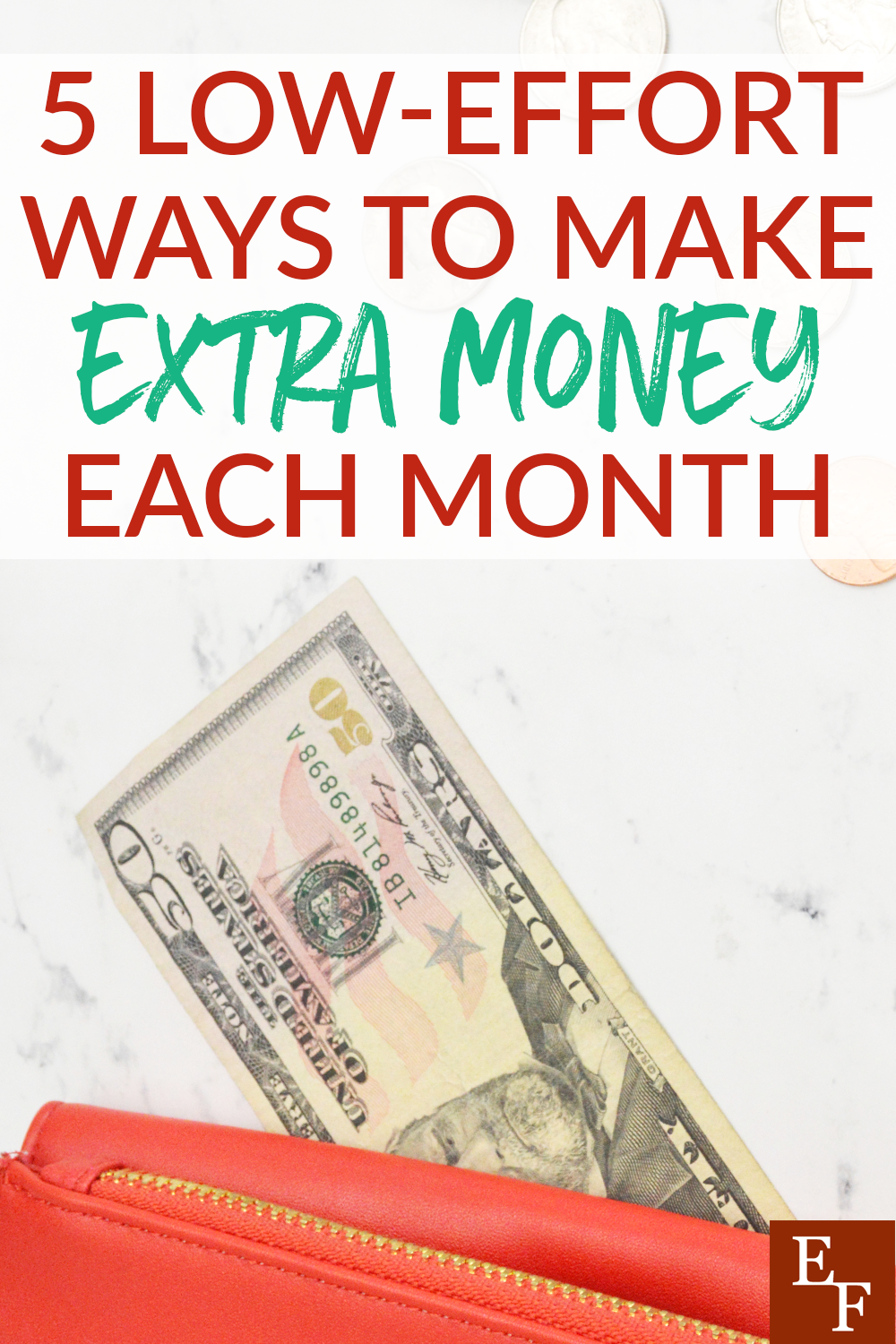 Bringing extra income into your home doesn't have to be difficult. We have listed some low effort ways to make extra money on the side.