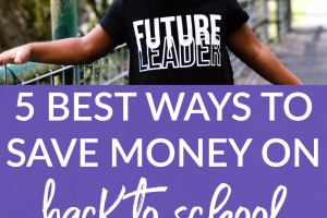 With summer halfway over, it's time to start thinking about school again. What are some of the best ways to save money on back to school clothes?