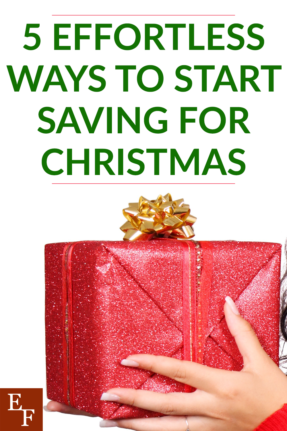 This year is flying by! Before you know it the holidays will be here. That's why now is the perfect time to start saving for Christmas.
