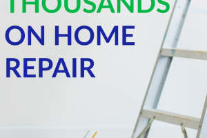 Home repairs come in at the top of household expenses usually. But we have a lot of great tips to help you save on home repairs!