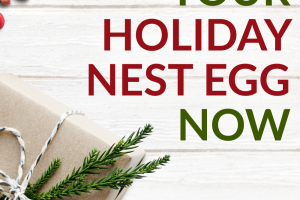 With the holidays just around the corner, it's time to start thinking about how to fund them. So, here's how to start building up your holiday nest egg now.
