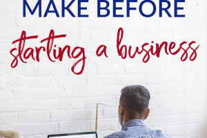 Starting a business is a big deal, there are many things to do before you should consider a business. We break down some money moves you need to make first.