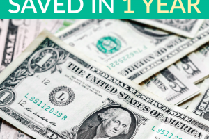 Do you have savings goals in mind for the new year? Well here are a few steps to take if you want to save the most money you've ever saved in one year.
