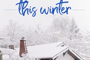 With the cold weather comes less motivation. But here are 4 effective home improvement projects you can tackle this winter to help you save some money.