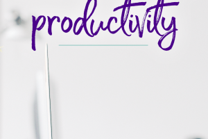 Increasing your level of productivity can have a positive correlation on your finances. How can creating a more organized space increase your productivity?