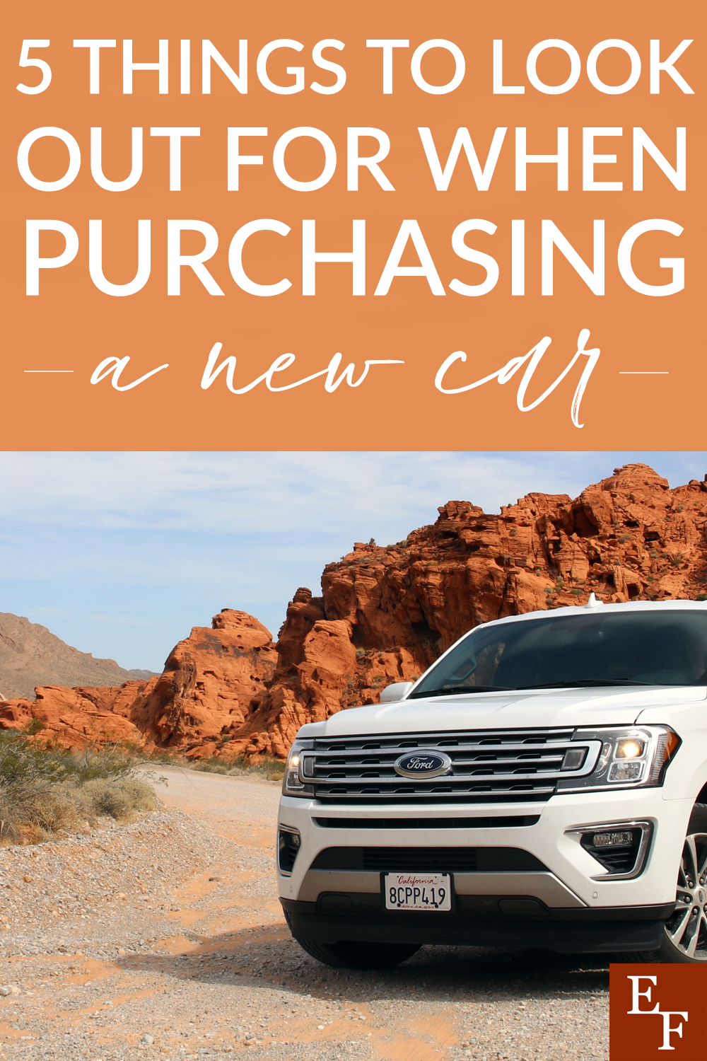 When you're new car shopping, there are a lot of things to think about. Here are 5 things to look out for when purchasing a new car to help save you money.