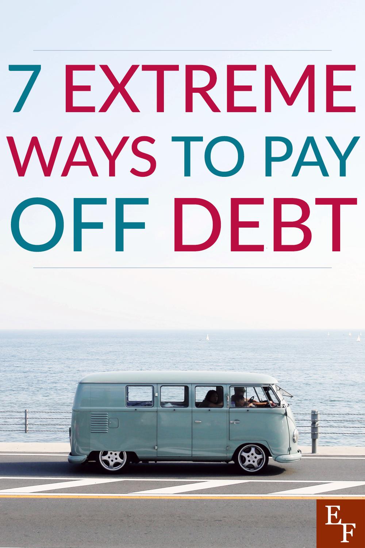 7 maneiras extremas de quitar dívidas 1