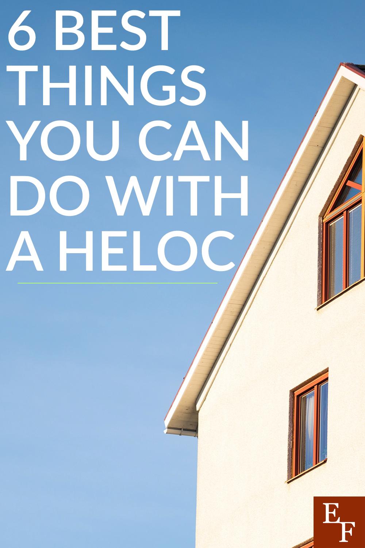 6 melhores coisas que você pode fazer com um HELOC 3