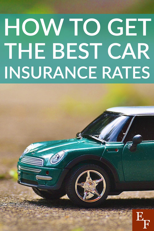 Como obter algumas das melhores taxas de seguro de carro 1