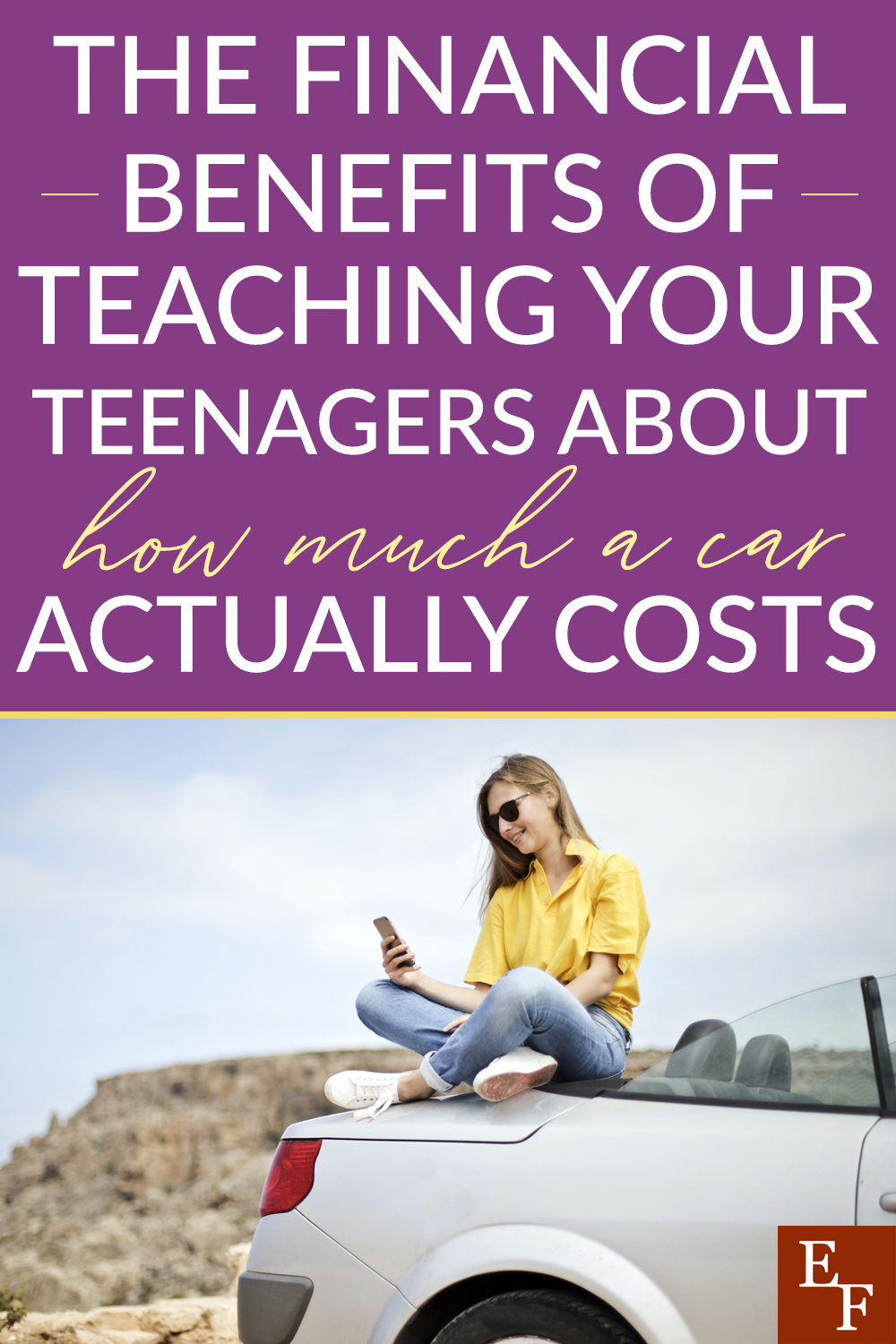 When teenagers start driving, they only think about gas costs. Which is why teaching them about how much a car costs to drive is so important.