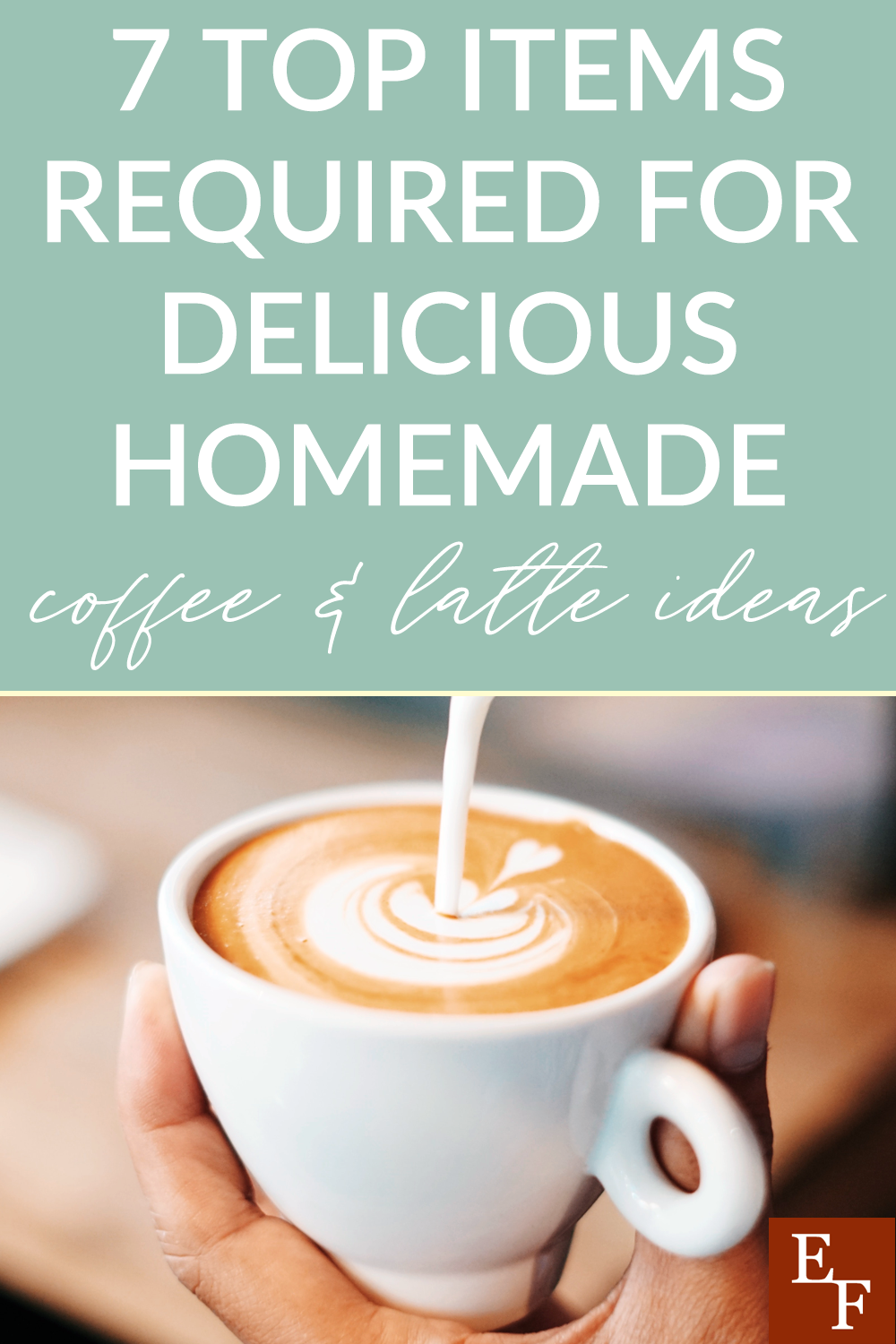 Getting coffee out can be extremely expensive. So here are 7 of our top items required for you to make delicious homemade coffee and lattes.