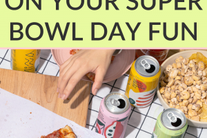 With the Super Bowl right around the corner, it's time to start planning an epic party. So here's how to not overspend on the Super Bowl fun!