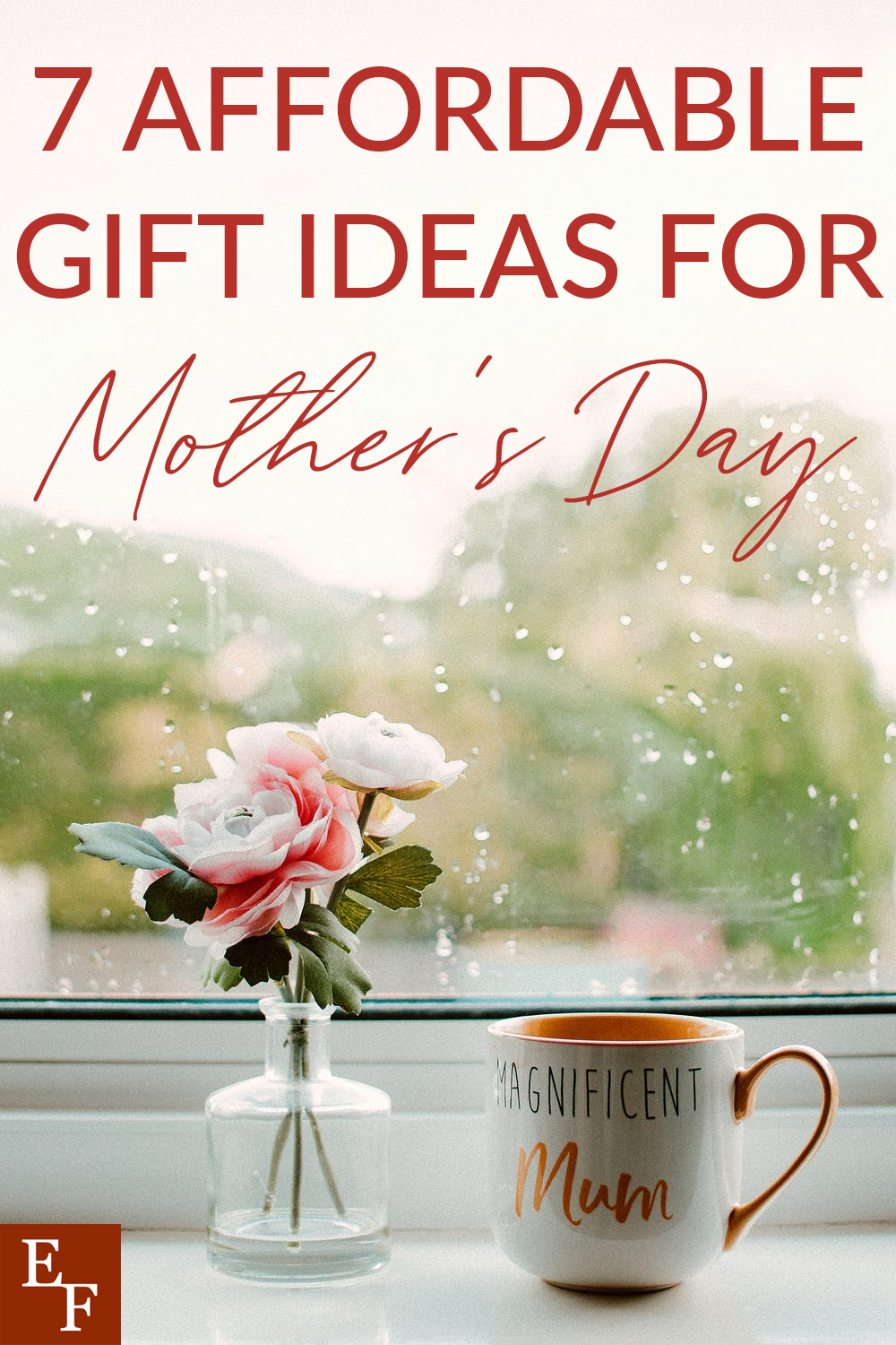 Mother's Day will be here before you know it. Are you ready? Here are 7 affordable gift ideas for Mother's Day.