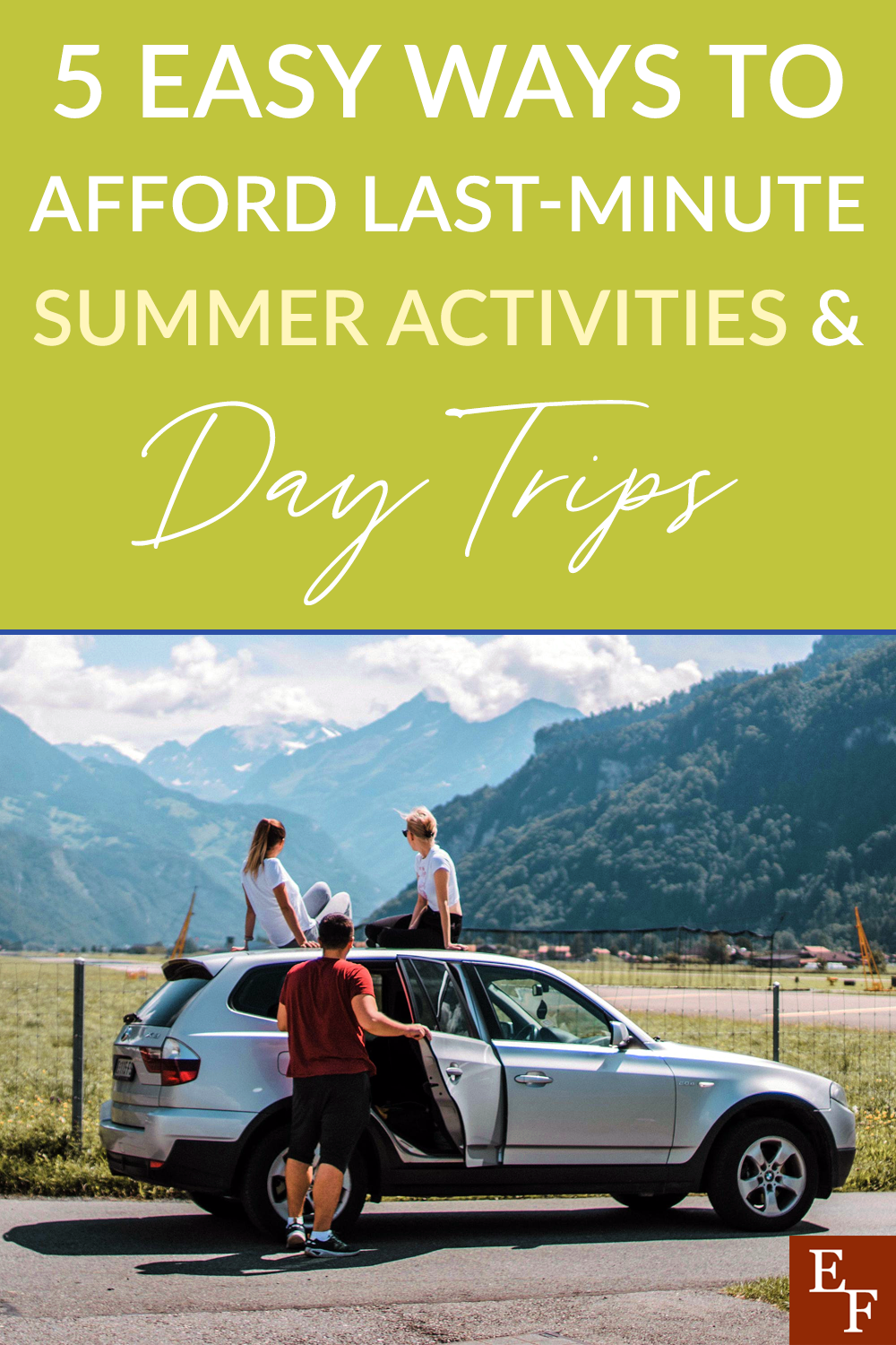 Having a plan in place to affording summer fun is the key to a great Summer. We've highlighted 5 easy ways to help make it happen.